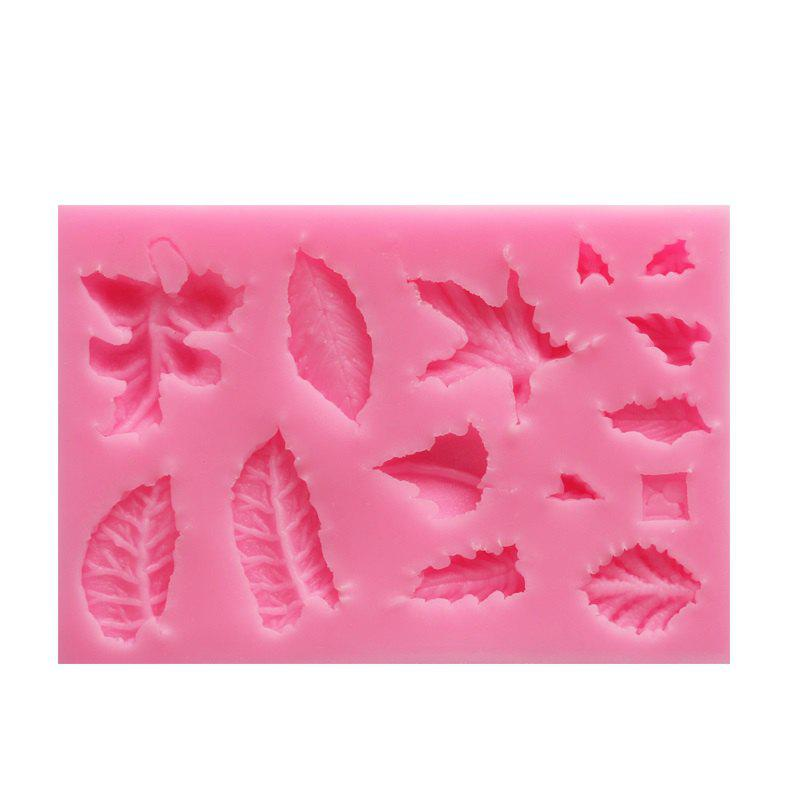 DIY Leaf Veiner Silicone Mold Cake Decorating Fondant Flower Sugar Craft Cake Bakware Mold Wedding Decoration 10 in 1 fondant cake decorating flower modelling tool set multicolored