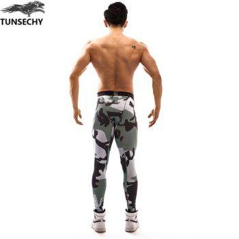 Fashion Trend 3D Printed Pants - multicolor 2XL