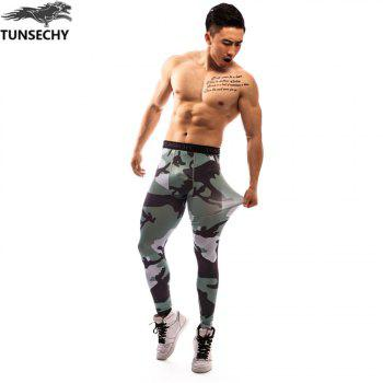 Fashion Trend 3D Printed Pants - multicolor S