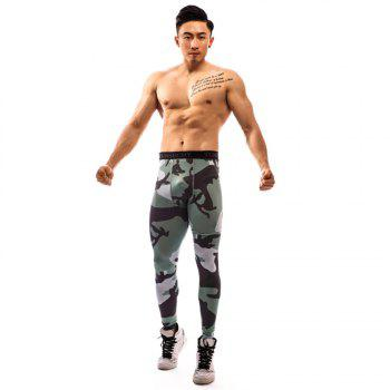 Fashion Trend 3D Printed Pants - MULTI multicolor