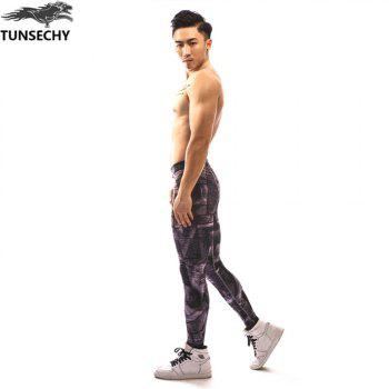 Fashion  Men's  Tights Trousers - multicolorCOLOR L
