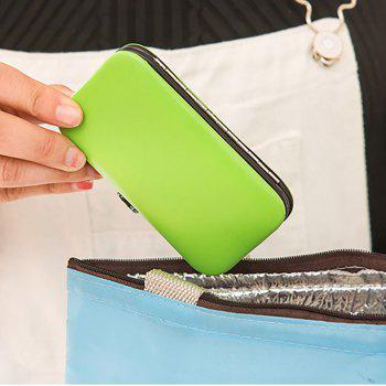 DIHE Nail Clipper Colours Clean Stainless Steel Convenient - GREEN