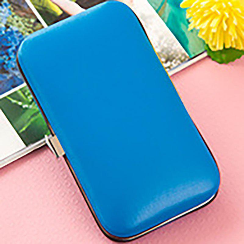 DIHE Nail Clipper Colours Clean Stainless Steel Convenient - BLUE