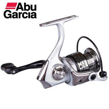 Abu Garcia Silver Max 2000 High Value 5+1 Ball Bearing Gear Ratio 5.2:1 Freshwater Spinning Fishing Reel - SILVER/BLACK