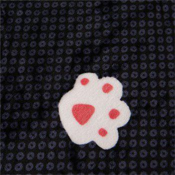 Weina The Footprints of The Bear The Blanket - BLACK BLACK