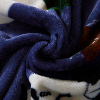 Weina Family The Blanket - CERULEAN W59 INCH * L79 INCH