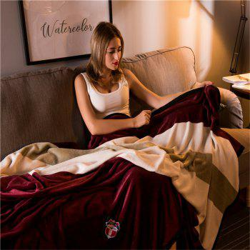 Weina Embrace The Dream The Blanket - DEEP RED DEEP RED
