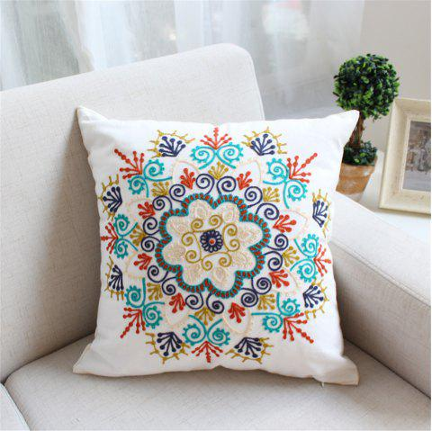 Weina Paper-Cut Flowers Hold Pillow - COLORMIX 1PC