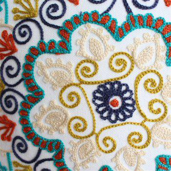 Weina Paper-Cut Flowers Hold Pillow - COLORMIX COLORMIX