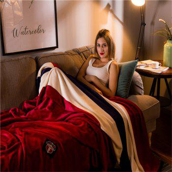 Weina Feeling Sleepy The Blanket - BURGUNDY W70INCH*L79INCH
