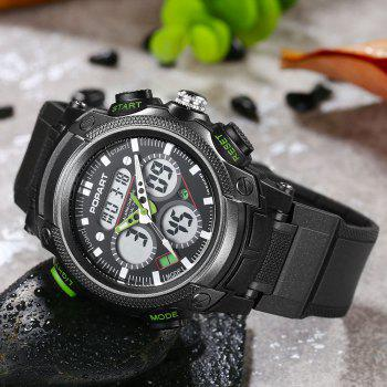 POPART 765AD Outdoor LED Digital Sports Multifunction Wristwatch for Men - GREEN