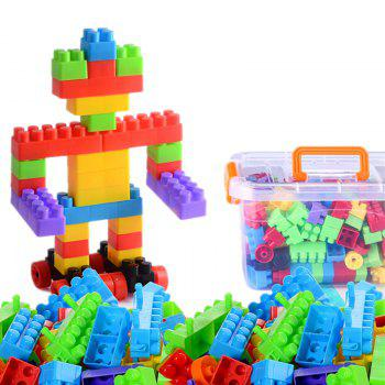 200 Grains  Larger Particles Building Blocks  Collage Children Puzzle  Creative DIY  Plastic Toys - COLORMIX