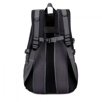 Men'S Ladies Outdoor Hiking Bag Casual Backpack -  BLACK