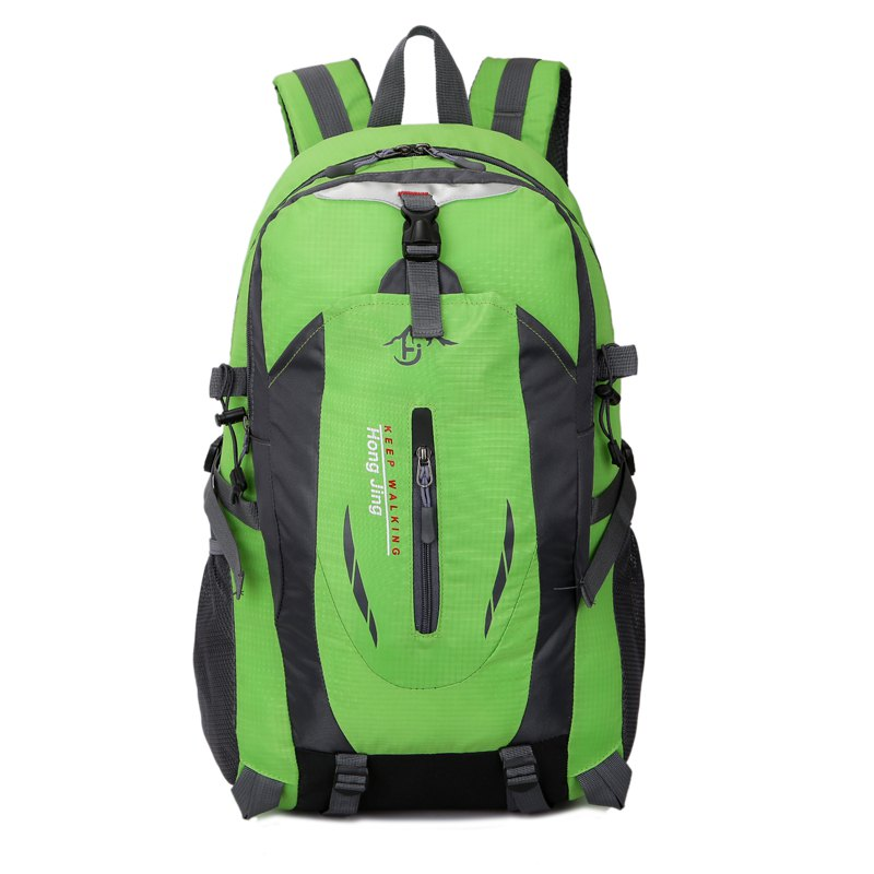 Men'S Ladies Outdoor Hiking Bag Casual Backpack - GREEN