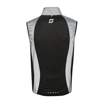 Supersoft Reflective Running Vest - BLACK BLACK
