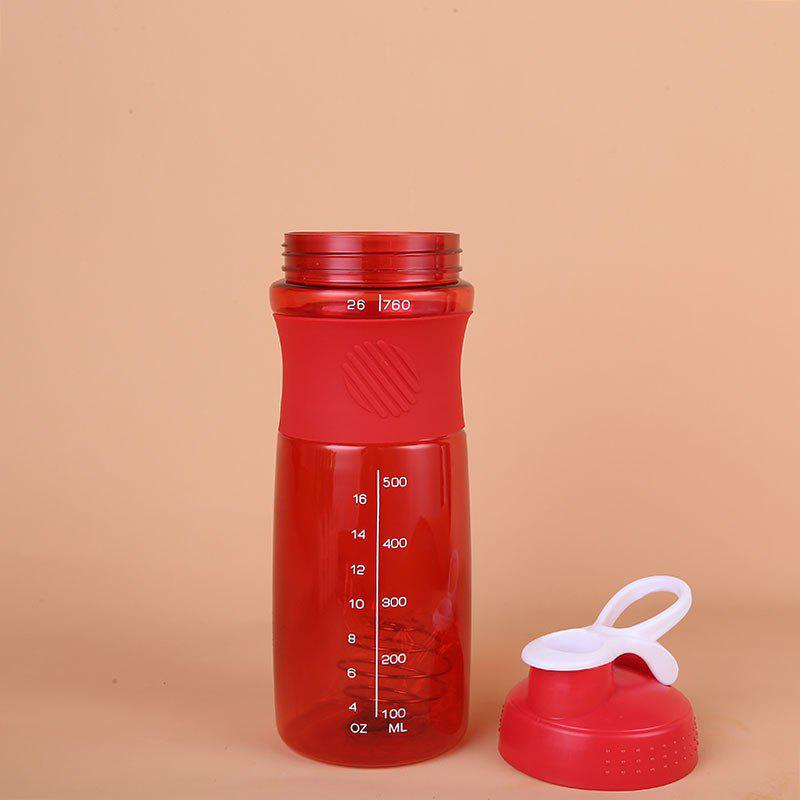 Protein Powder Muscle Fitness Exercise Cup - RED SIZE M