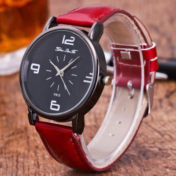 ZhouLianFa New Trend Outdoor Crystal Grain Quartz Watch -  CLARET