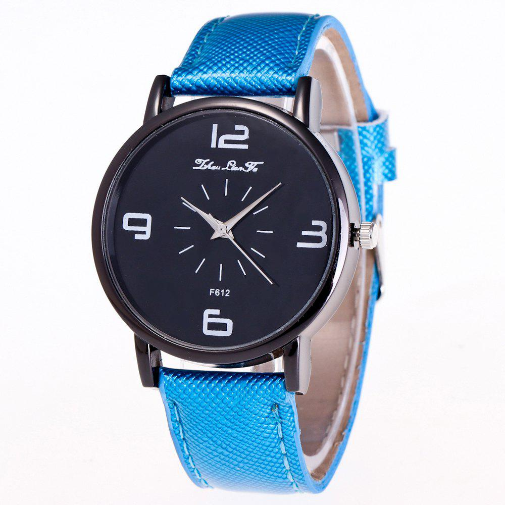 ZhouLianFa New Trend Outdoor Crystal Grain Quartz Watch - BLUE