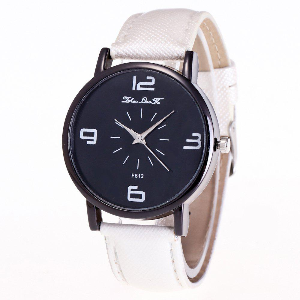 ZhouLianFa New Trend Outdoor Crystal Grain Quartz Watch - WHITE