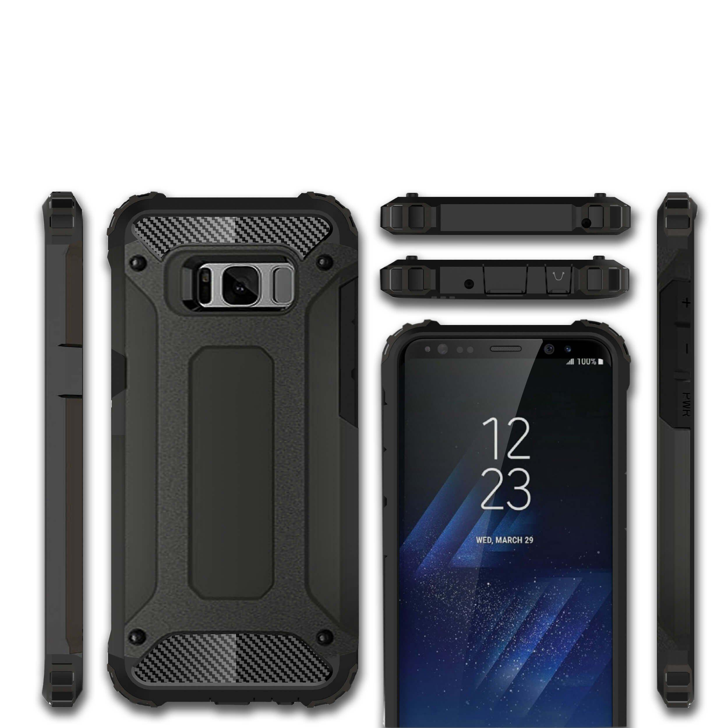 Strong Hybrid Silicone TPU+Armor PC Heavy Hard Shockproof Case For  iPhone 7 6 6S Plus 5 5S SE for Huawei P8 P9 Lite / P9 Plus / Mate 8 Honor 8 V8 5C for Samsung Galaxy S8 S8 Plus Note4 5 / S6 Edge Pl hh xw dazzle impact hybrid armor kickstand hard tpu pc back case for samsung galaxy tab a 8 0 inch p350 p355c t350 t355 sm t355