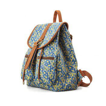 Women Backpack Purse Butterfly Design Backpack for Teen Girls - BLUE BLUE