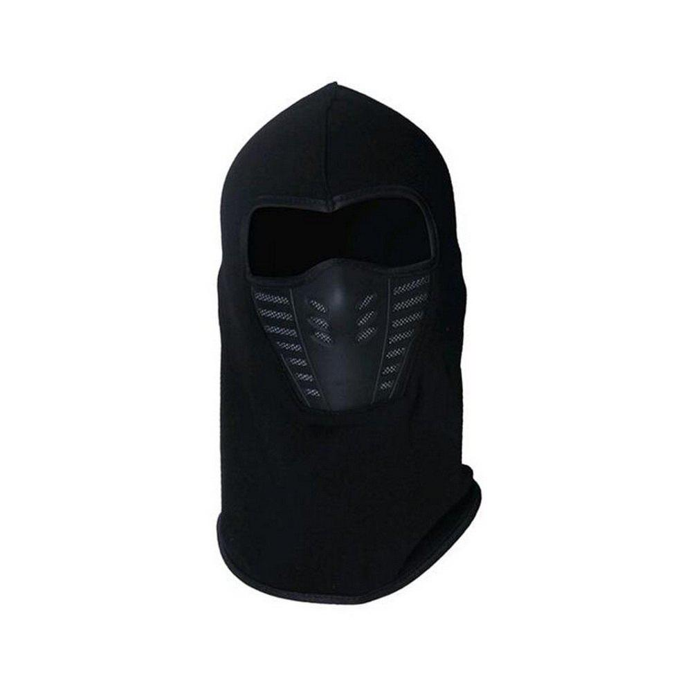 Active Wear Cold-Weather Mask for Men and Women - BLACK 29 X 24 X 14CM