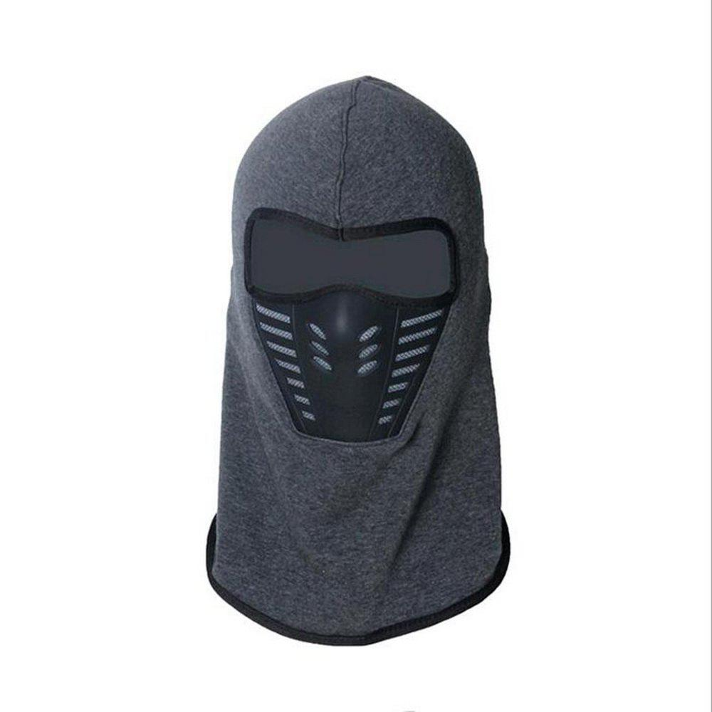Active Wear Cold-Weather Mask for Men and Women - GRAY 29 X 24 X 14CM