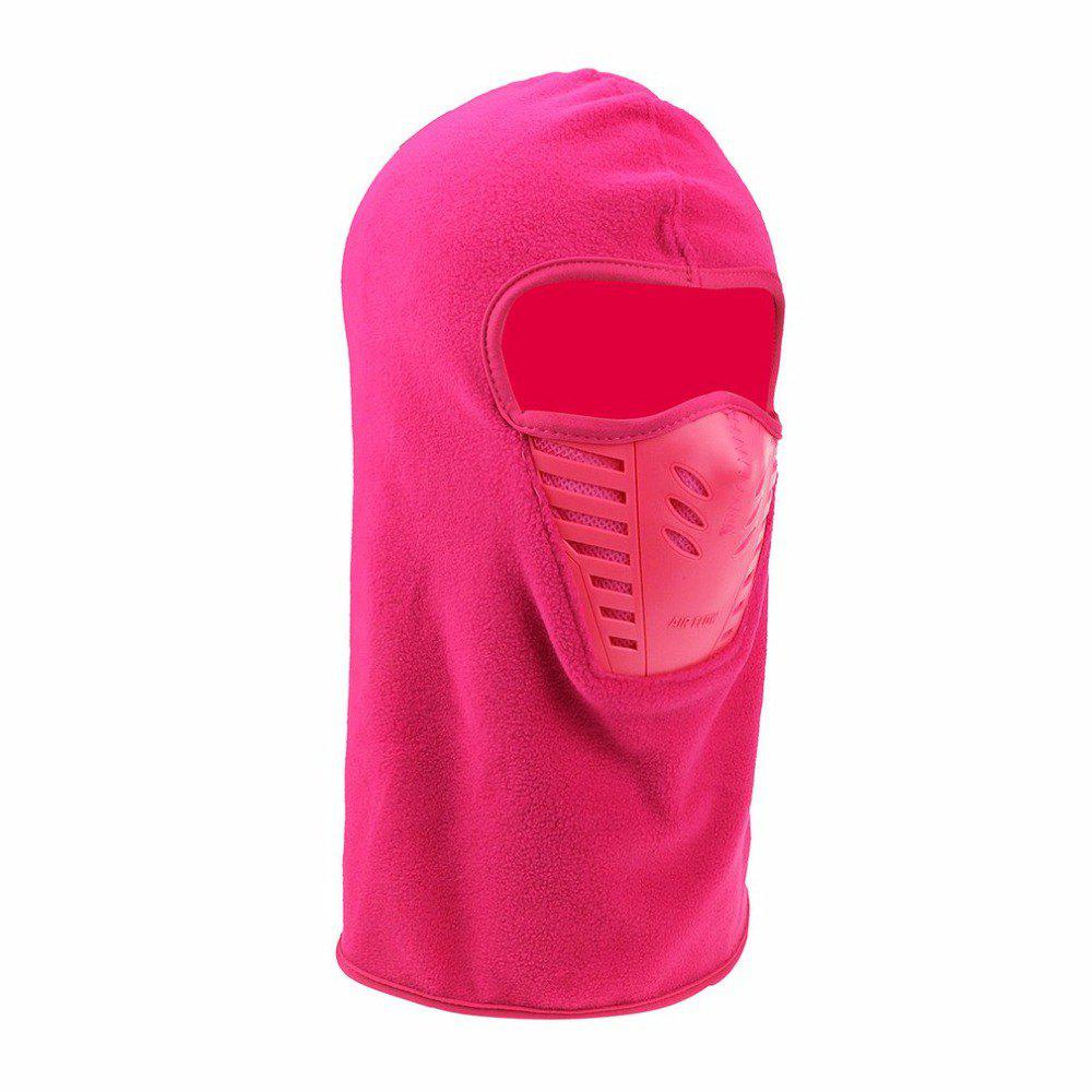 Active Wear Cold-Weather Mask for Men and Women - PINK 29 X 24 X 14CM