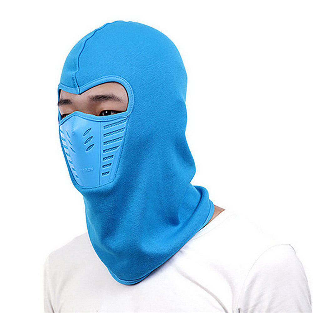 Active Wear Cold-Weather Mask for Men and Women - BLUE 29 X 24 X 14CM