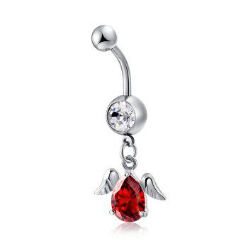 Personality Angel Wing Fine Water Drop Shaped