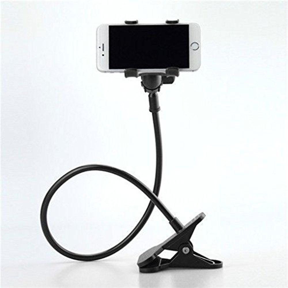 Bed Lazy Mobile Phone Stand Holder - BLACK
