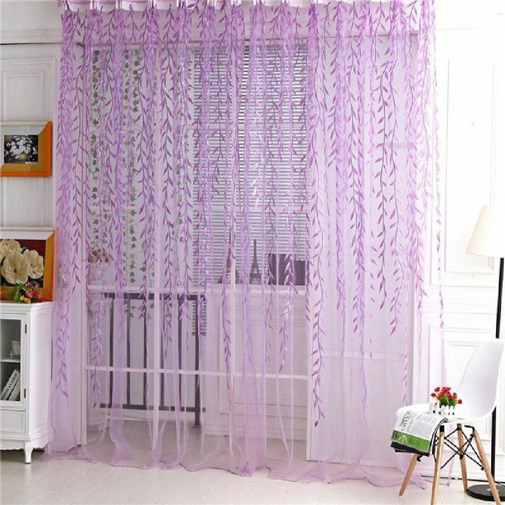 Plucking Purple Wicker Window 1pc - PURPLE FLAT FRONT