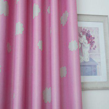 Cloud Cover Bedroom Dreamy Curtains - PINK FLAT FRONT