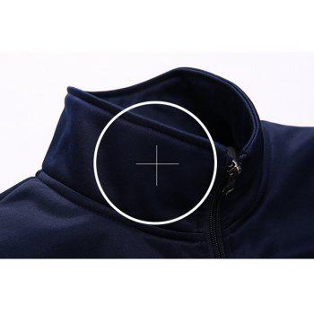 Male Youth Fashion Sportswear Men'S Casual Suit - BLUE 2XL