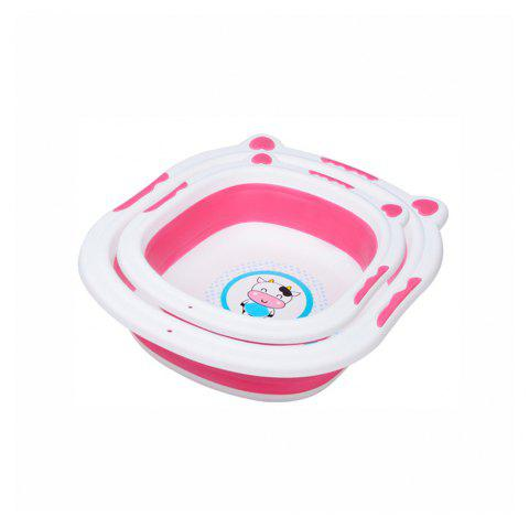 Small cow folding basin MY0033 - PINK