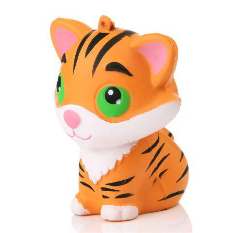 Super Slow Rising Animal Phone Straps Kawaii Tiger Squeeze Jumbo Squishy Bread Soft Scented Cake Toys Doll Gift Cellphones & Telecommunications Mobile Phone Accessories