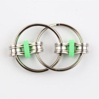 5 colors Creative Bike Chain Fidget Toy for Autism ADHD Stress - GREEN