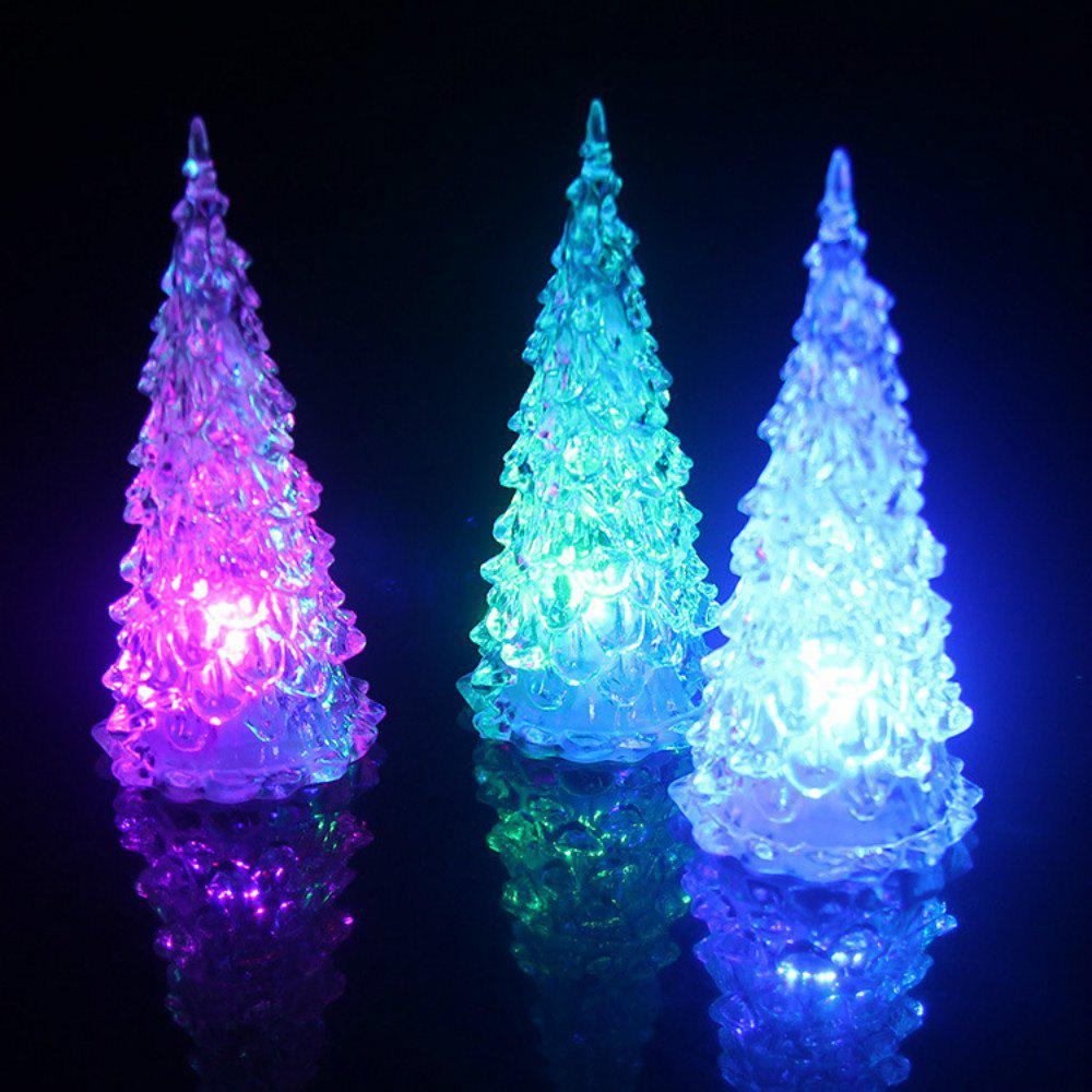 LED Colorful Lights Christmas Tree Home Holiday Decor Christmas Lamp For Festival Accessories 65cm 18cm 110cm led christmas tree lamp