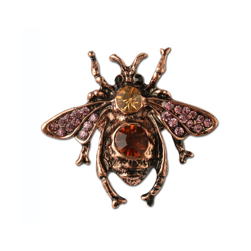 Vintga Cute Animal Bee Brooch For Women In Europe And America High-grade brooch democracy in america nce