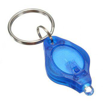 Mini LED Keychain Finger Light - BLUE