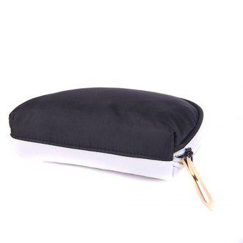 New female makeup bag cartoon cute large capacity storage bag travel bag portable storage package - RANDOM COLOR