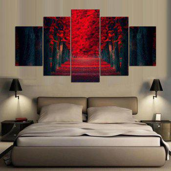 YSDAFEN5 Piece Modern Wall Art Home Decoration Pictures Canvas - COLORMIX 30X40CMX2+30X60CMX2+30X80CMX1(12X16INCHX2+12X24INC