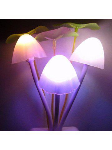 GodRays G051201   M01 Smart Light Control Mushroom Night Lamp Auto Change  Color US PLUG AC