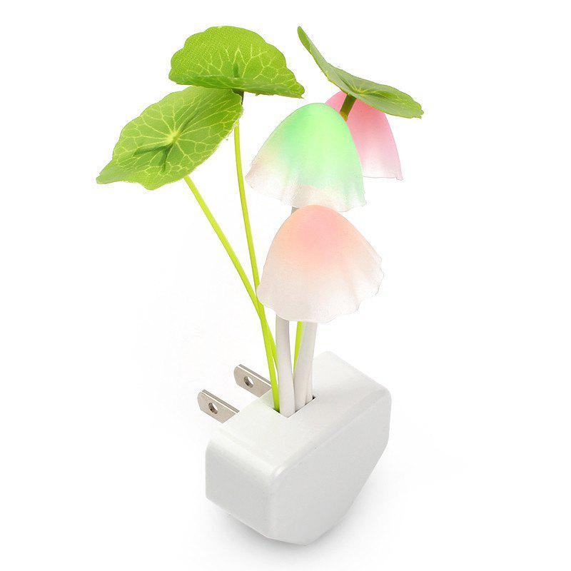 GodRays  G051201 - M01  Smart Light Control Mushroom Night Lamp  Auto Change Color  US PLUG AC 110 - 220 V - COLORMIX 4.5 X 11.5 CM