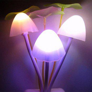 GodRays G051201 - M02 Smart Light Control Mushroom Night Lamp Auto Change Color EU PLUG AC 110 - 220 V - COLORMIX 5.5 X 11.5 CM