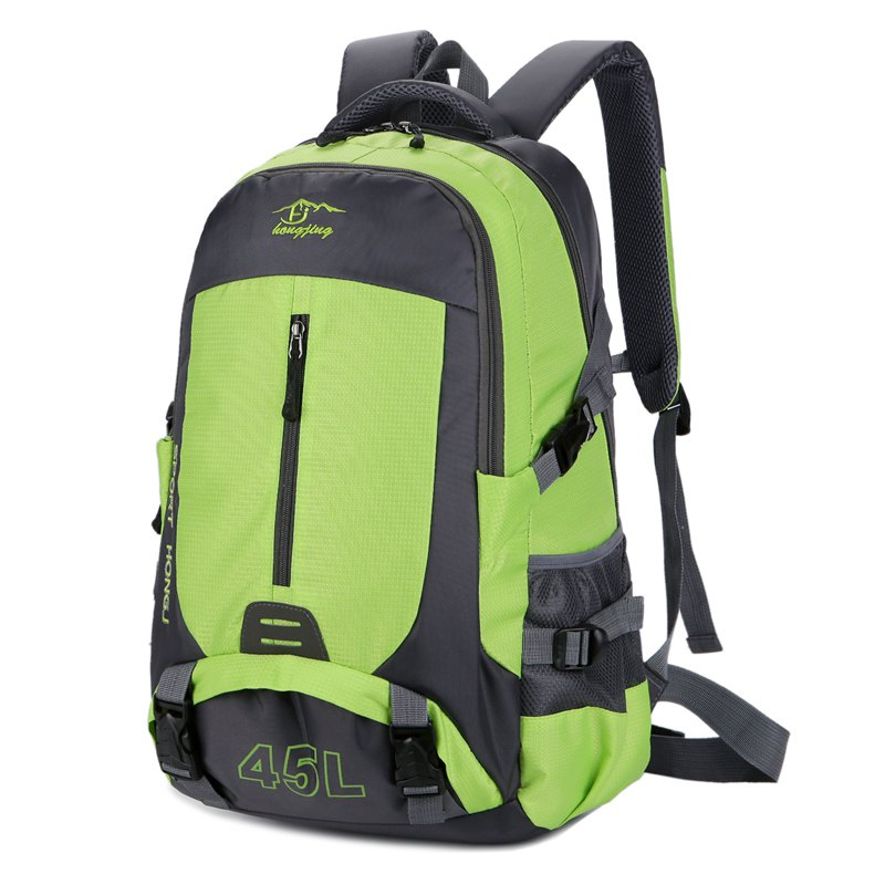 Hongjing 45L Outdoor Casual Sporting Hiking Camping Climbing Backpack - GREEN