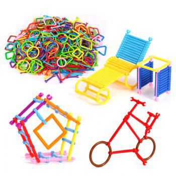 Magic Assembling  Stick  Kindergarten Early Childhood Education Game  Cleverness Building Blocks Toy -  COLORMIX