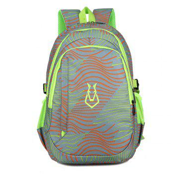 FLAMEHORSE Men women Casual Sports Travel Bag Outdoor Mountaineering Travel Backpack - LIGHT GRAY LIGHT GRAY