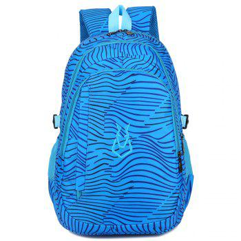 FLAMEHORSE Men women Casual Sports Travel Bag Outdoor Mountaineering Travel Backpack - SAPPHIRE BLUE SAPPHIRE BLUE