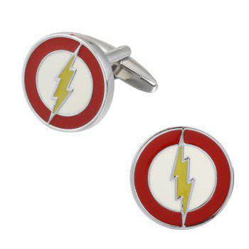 High Quality Oil Logo Totem Cufflinks Cuff Links - RED